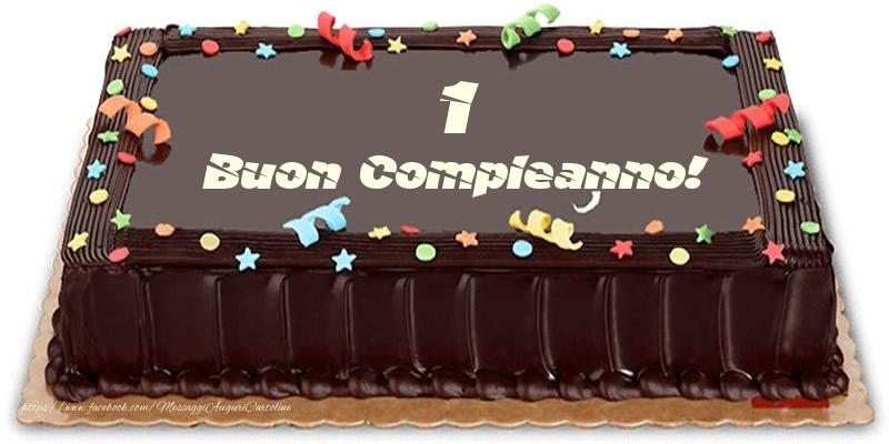 Torta 1 anno Buon Compleanno!