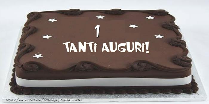 Torta 1 anno Tanti Auguri!
