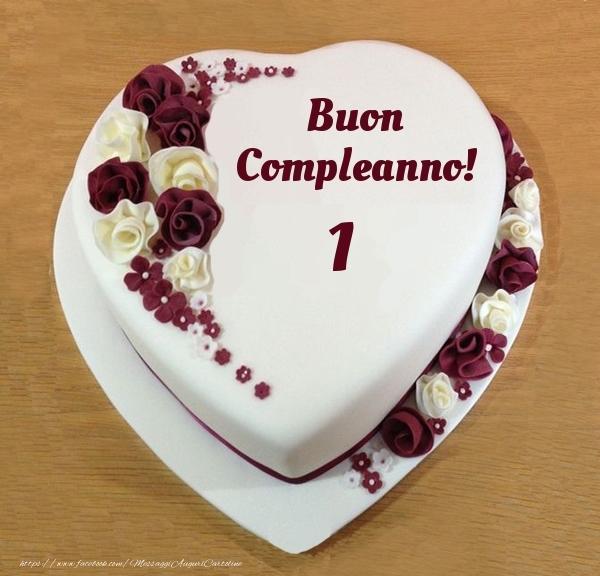 Buon Compleanno 1 anno! - Torta
