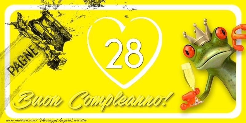 Buon Compleanno, 28 anni!
