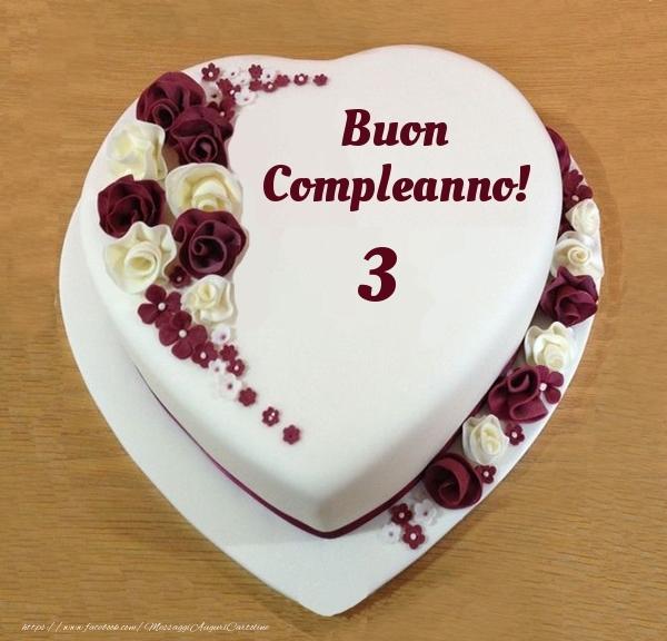 Buon Compleanno 3 anni! - Torta