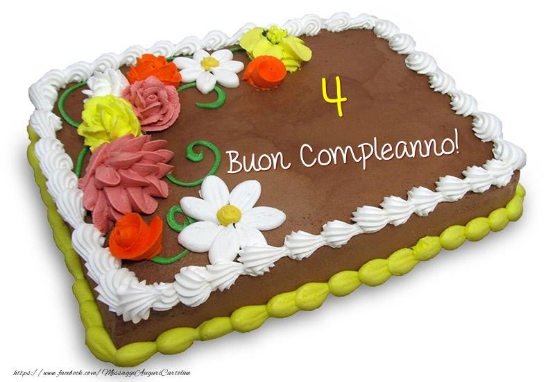 4 anni - Buon Compleanno!