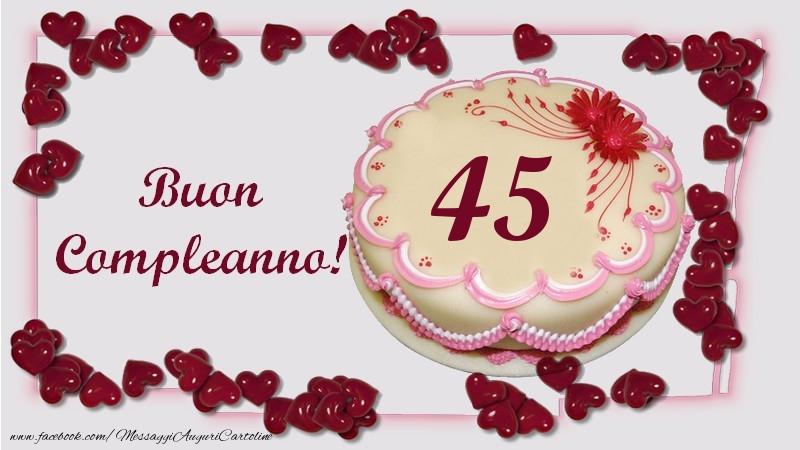 Buon Compleanno! 45 anni