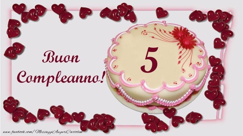 Buon Compleanno! 5 anni