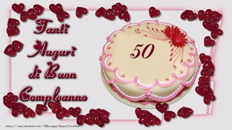 abbastanza Buon Compleanno, 50 anni! - messaggiauguricartoline.com TT63