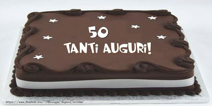 Torta 50 anni Tanti Auguri!