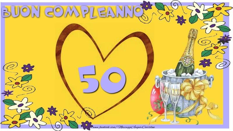 Biglietti Auguri Compleanno 50 Anni Da Stampare Gratis