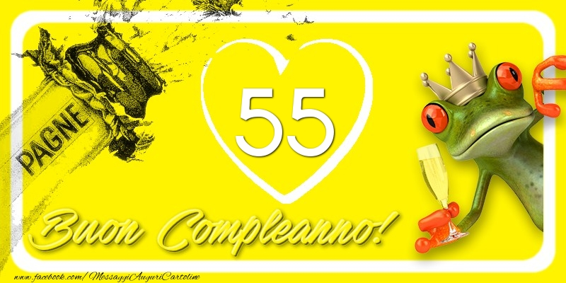 Buon Compleanno, 55 anni!
