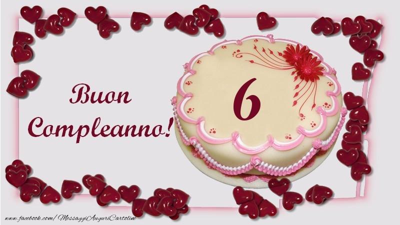 Buon Compleanno! 6 anni