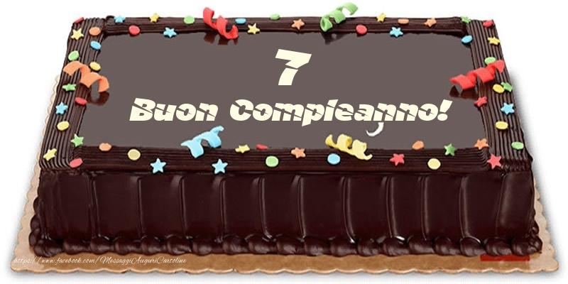 Torta 7 anni Buon Compleanno!