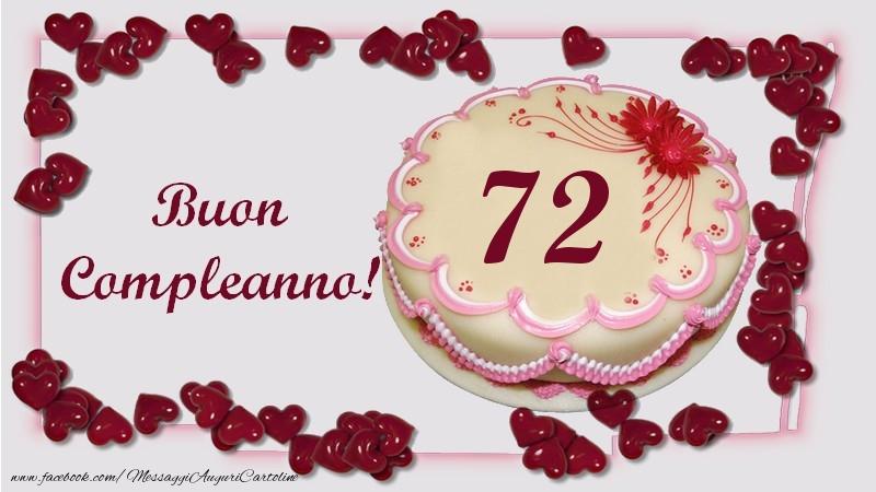 Buon Compleanno! 72 anni