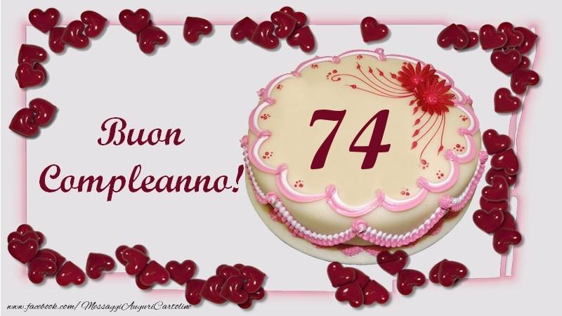 Buon Compleanno! 74 anni