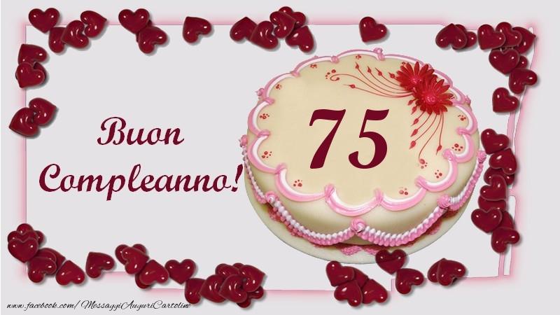 Auguri Di Buon 75 Compleanno.Buon Compleanno 75 Anni Messaggiauguricartoline Com