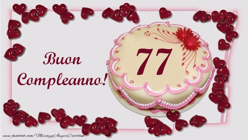 Buon Compleanno! 77 anni