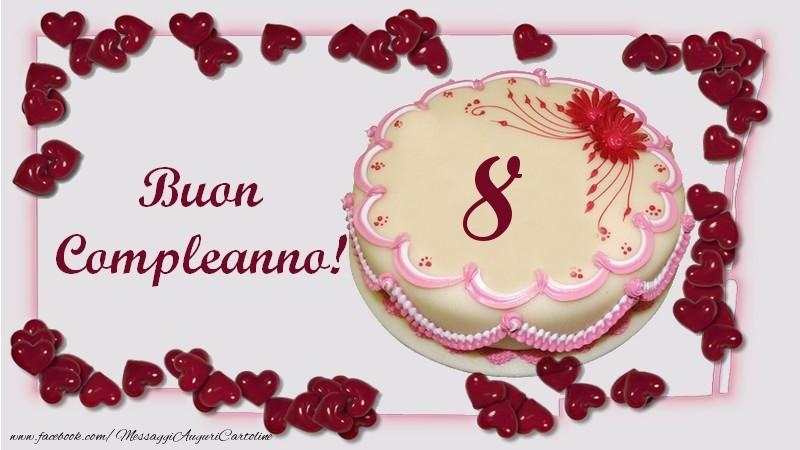 Buon Compleanno! 8 anni