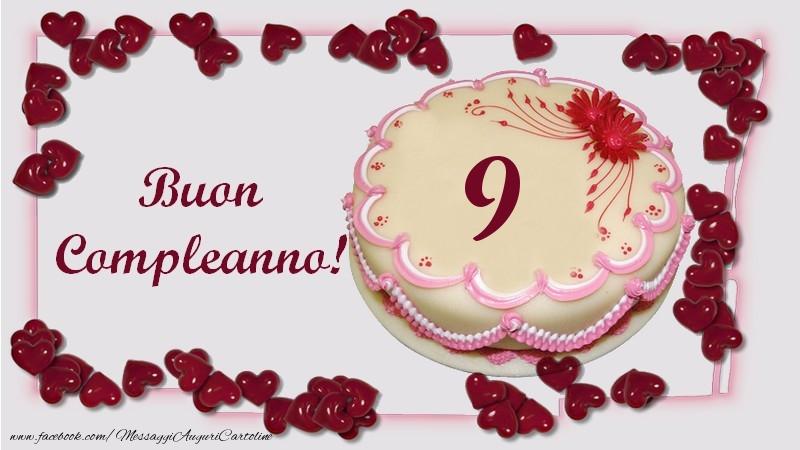 Buon Compleanno! 9 anni