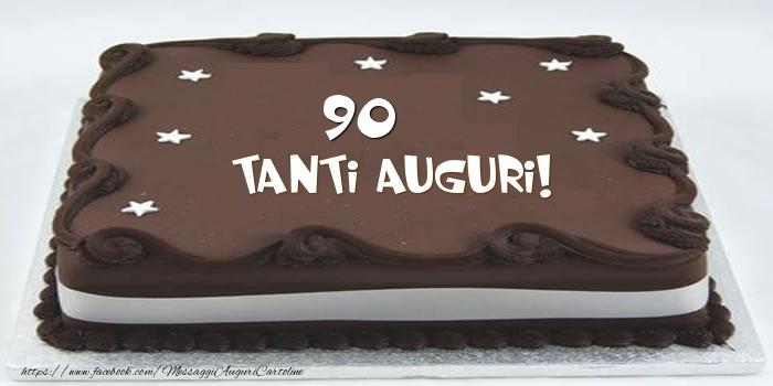 Torta 90 anni Tanti Auguri!