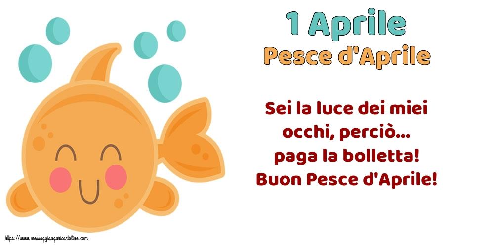 Cartoline per il Pesce d'Aprile - 1 Aprile - Pesce d'Aprile