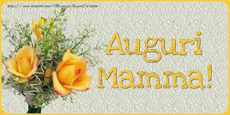 Cartoline di Festa della mamma - Auguri Mamma!