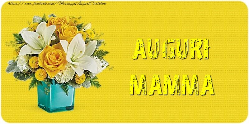 Cartoline di Festa della mamma - Auguri mamma.
