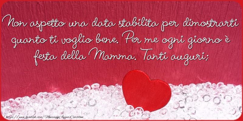 Cartoline di Festa della mamma - Tanti auguri