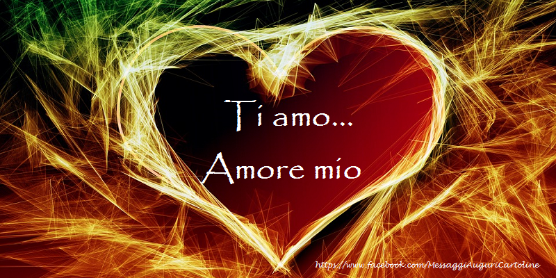 Amore amore mio