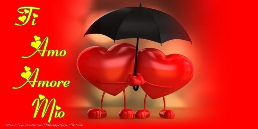 Cartoline d'amore - Ti amo amore mio!