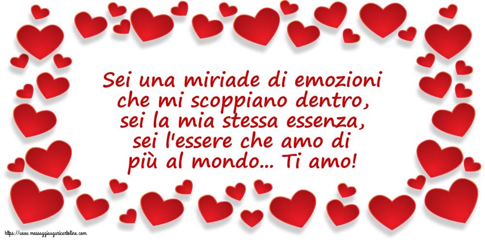 Cartoline d'amore - Ti amo! - messaggiauguricartoline.com