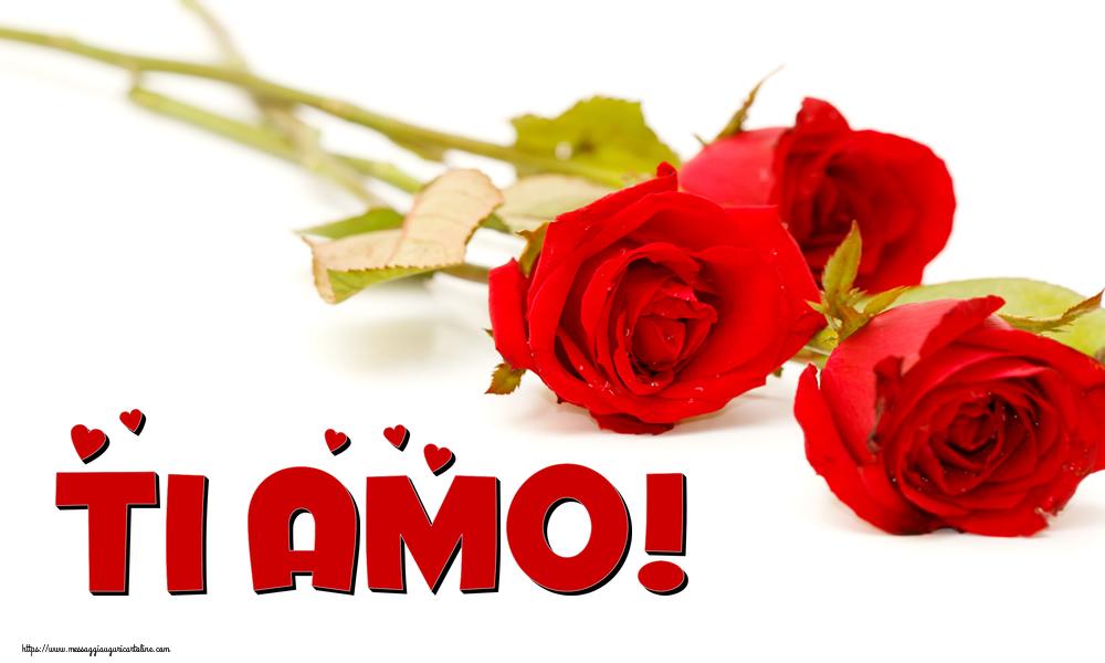 Cartoline d'amore - Ti amo!