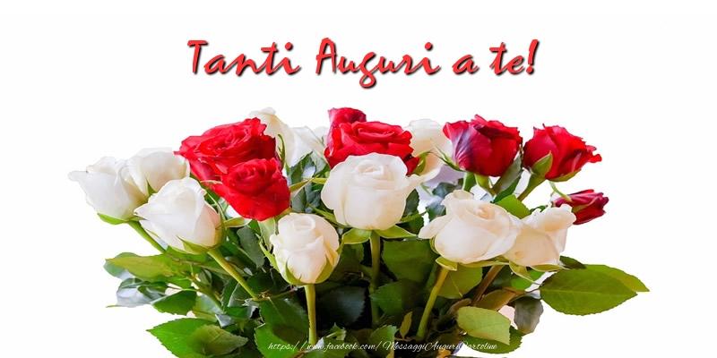 Ben noto Cartoline di auguri con fiori - messaggiauguricartoline.com LI46