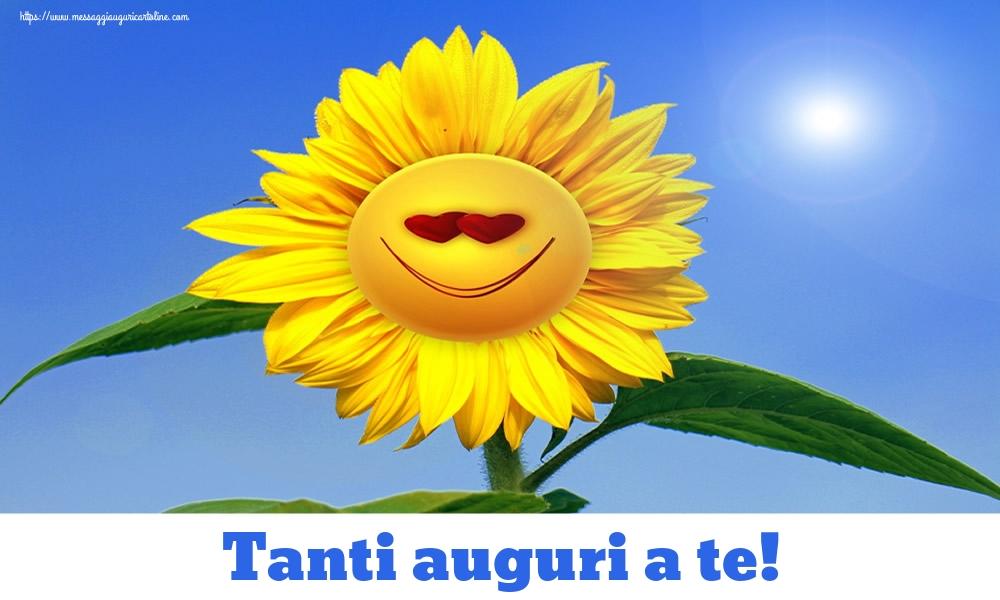 Cartoline di auguri - Tanti auguri a te! - messaggiauguricartoline.com