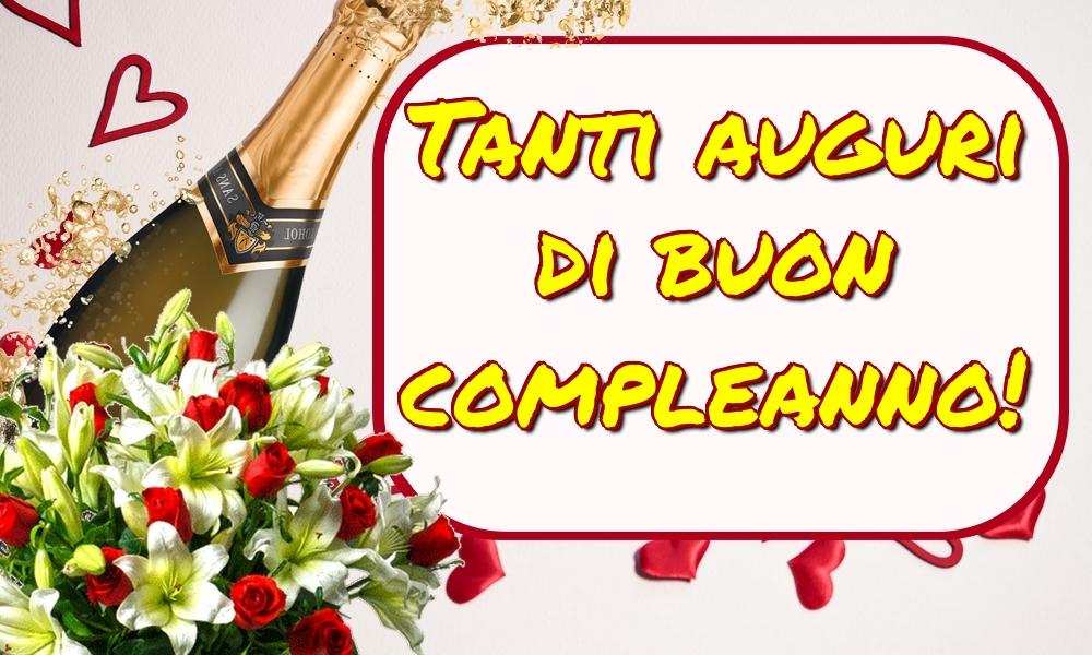 Cartoline di auguri - Tanti auguri di buon compleanno! - messaggiauguricartoline.com