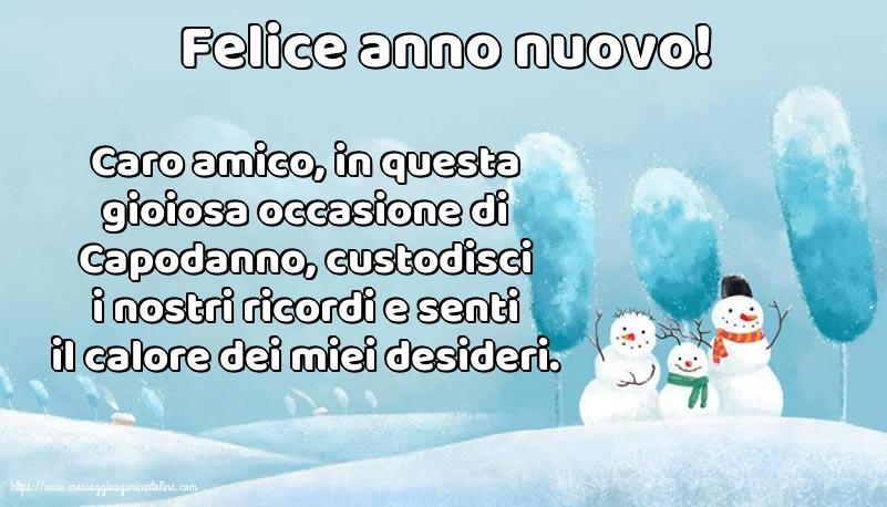 Cartoline di Buon Anno - Felice anno nuovo!