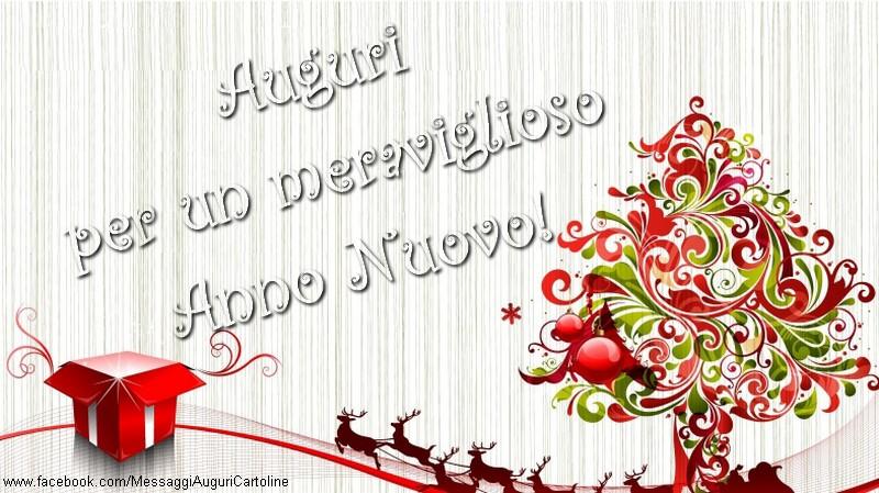 Il più popolari cartoline di Buon Anno - Auguri per un meraviglioso Anno Nuovo!