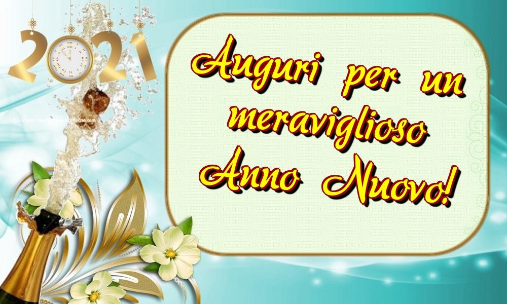 Cartoline di Buon Anno - Auguri per un meraviglioso Anno Nuovo!