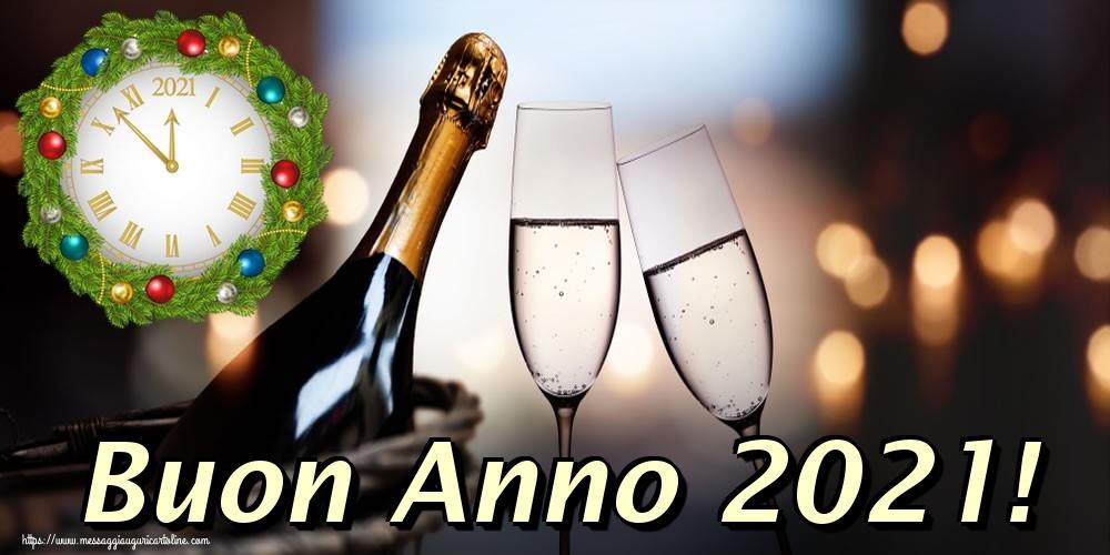 Cartoline di Buon Anno - Buon Anno 2021!