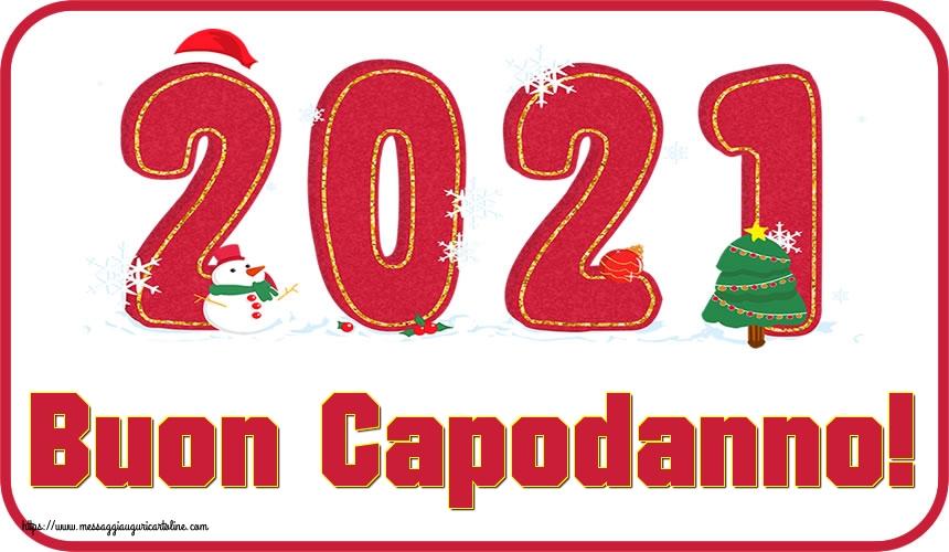 Cartoline di Buon Anno - Buon Capodanno!