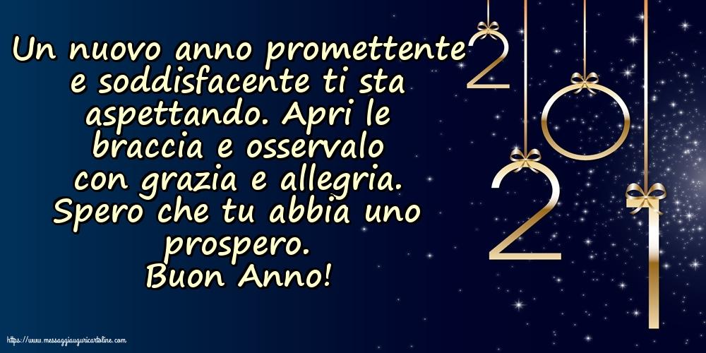 Cartoline di Buon Anno 2021 - Buon Anno!