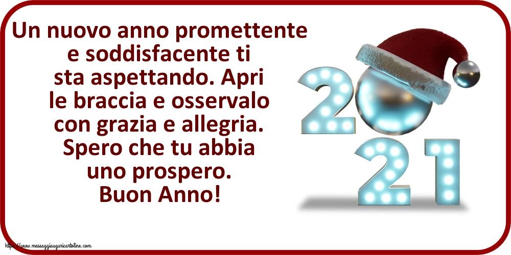Cartoline di Buon Anno con messaggi - Buon Anno!