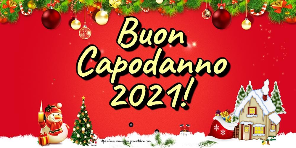 Cartoline di Buon Anno - Buon Capodanno 2021!