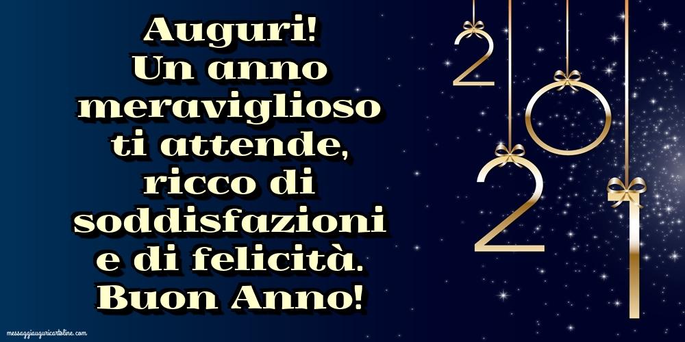 Cartoline di Buon Anno - Buon Anno! - messaggiauguricartoline.com