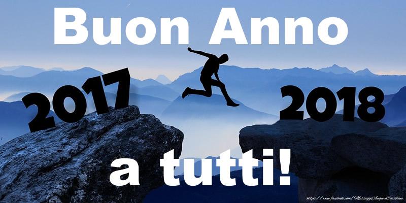 Cartoline di Buon Anno - Buon Anno 2018 a tutti!