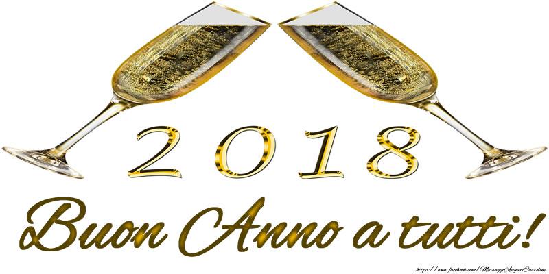 Cartoline di Buon Anno - 2018 Buon Anno a tutti!
