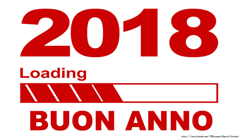 Cartoline di Buon Anno - Buon Anno 2018!