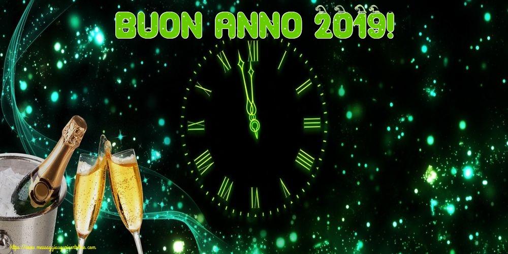 Cartoline di Buon Anno - Buon Anno 2019!