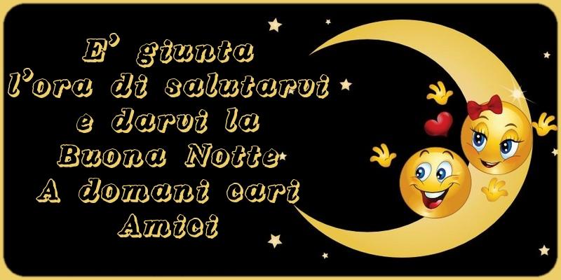 Top di buonanotte - A domani cari Amici - messaggiauguricartoline.com LB87