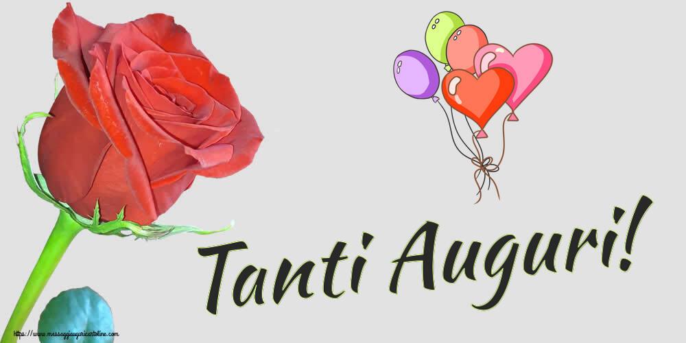 Cartoline di compleanno - Tanti Auguri!