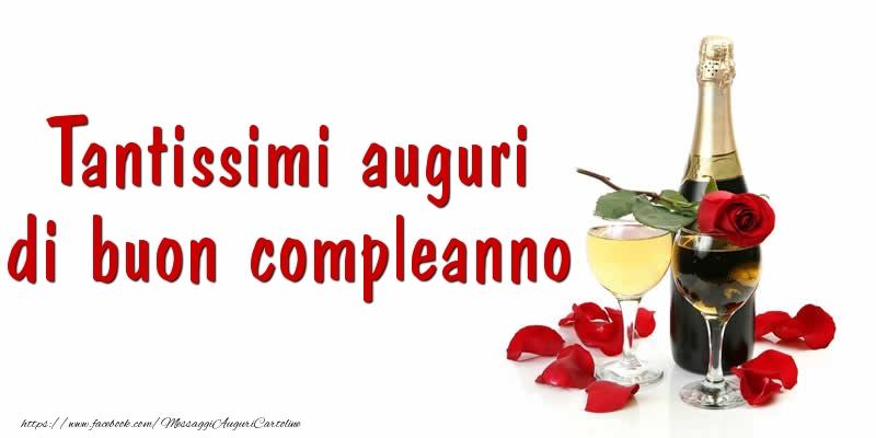 Cartoline di compleanno - Tantissimi auguri di buon compleanno - messaggiauguricartoline.com