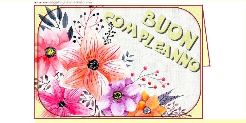 Cartoline di compleanno - Buon Compleanno!