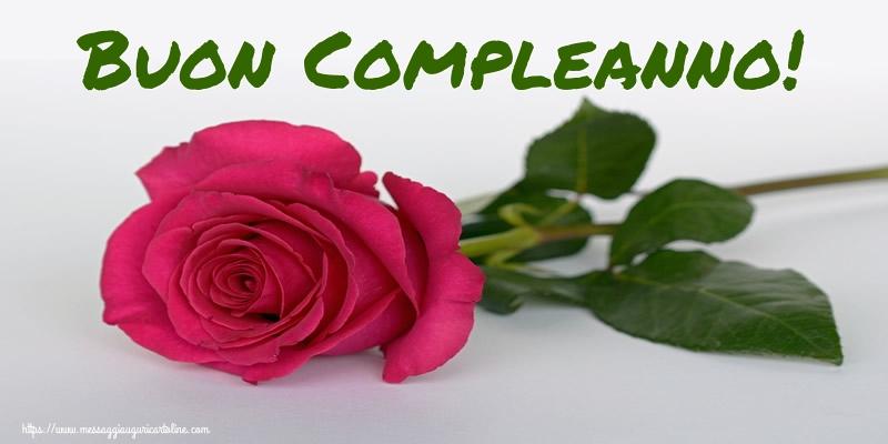 Cartoline di compleanno con rose - Buon Compleanno!
